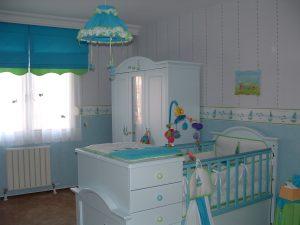 habitación infantil para la llegada del bebé