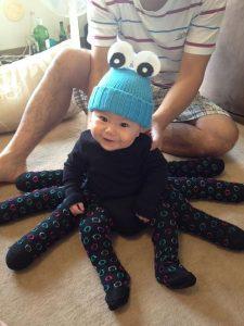 disfraz pulpo bebe