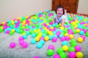 pelotas para piscina de bolas