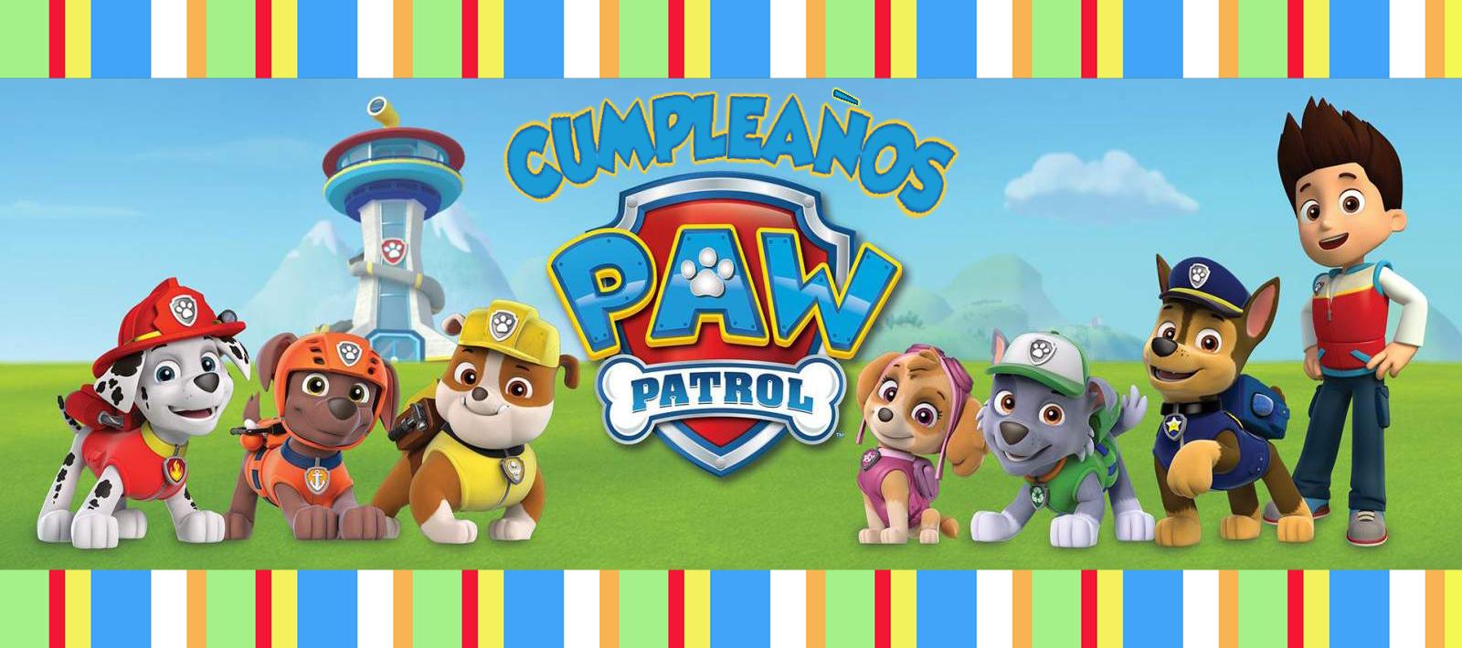 La patrulla canina fiestas tem ticas para ni os - Cumpleanos patrulla canina ...