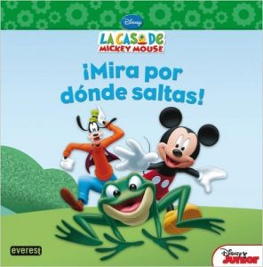 libro la casa de mickey mouse