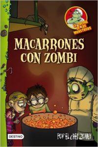 macarrones con zombie