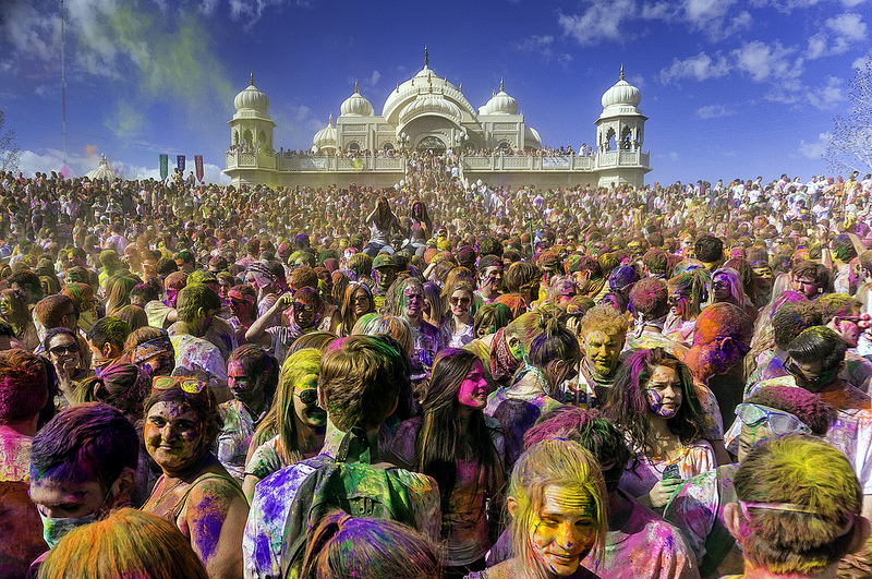 holi origen hindu