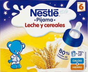 leche nestle pijama leche y cereales