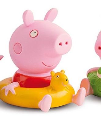Juguetes peppa pig para el baño