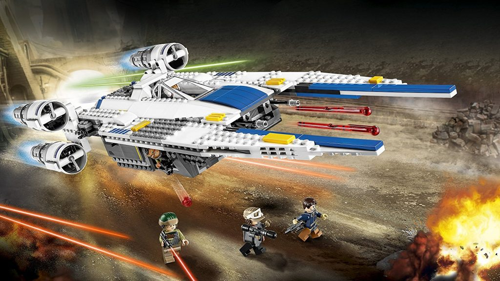 lego star wars nave rebelde u-wing