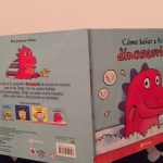 "Reseña del libro ""Cómo bañar a tu dinosaurio"""