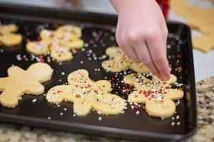 manualidades de navidad para niños galletas de navidad