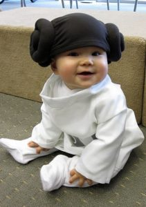 disfraz de leia para beb