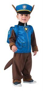 disfraz niño patrulla canina chase