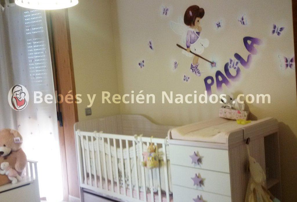 habitacion infantil pintada
