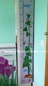 decoracion infantil vinilo metro altura