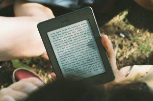 leyendo kindle