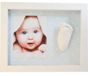 Molde en 3D de la mano o el pie del bebé