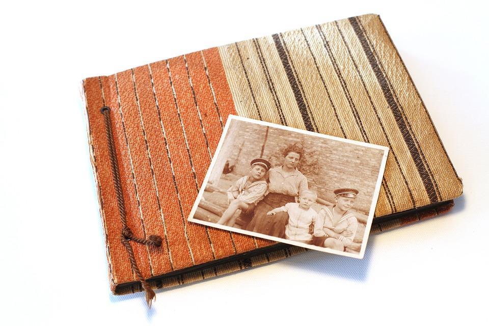 album con fotos antiguas