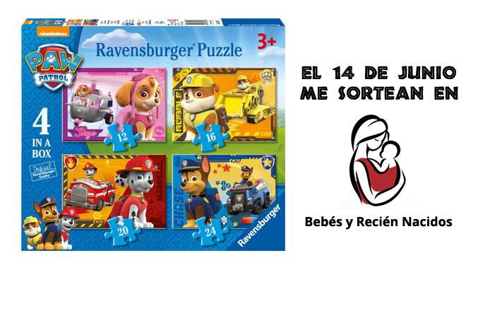 sorteo caja de puzzles de la patrulla canina