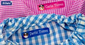 etiquetas para ropa guarderia