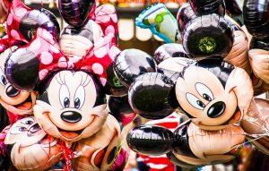 globos minnie y mickey