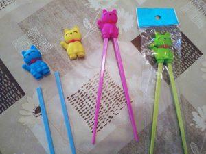 palillos chinos para niños. Imprescindibles en la cocina japonesa