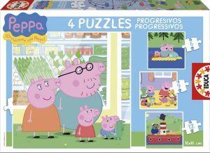 puzzles progresivos peppa pig