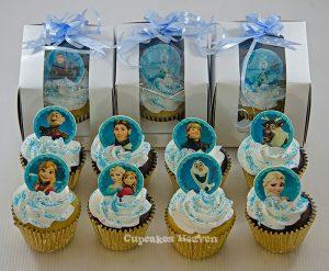 cupcakes de frozen