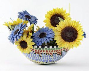 molde kit embaraza flores