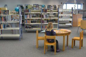 la biblioteca para fomentar la lectura