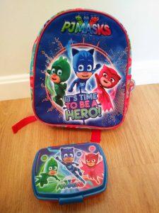 mochila escolar pj masks