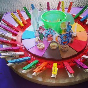 calendario Montessori para niños casero